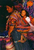 (Guatamalan mother and child) from calendar.